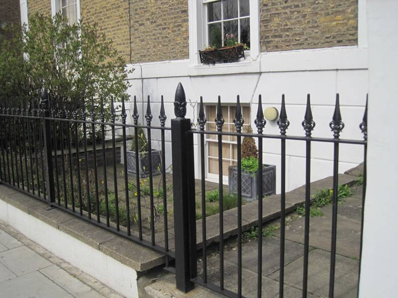Front gate, iron any sise or design, matching iron railings